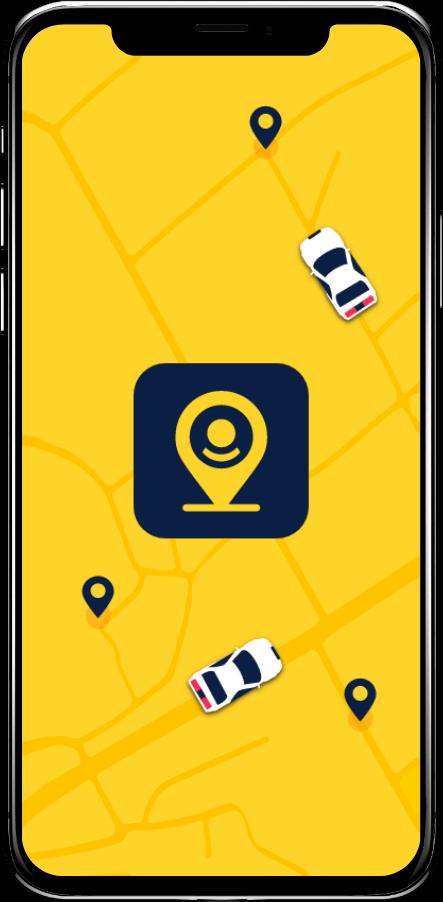 Taxi Spot App Splashscreen